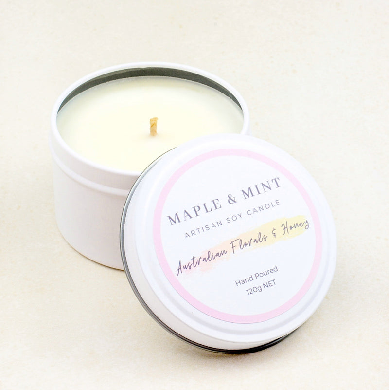 Australian Florals & Honey Soy Candle
