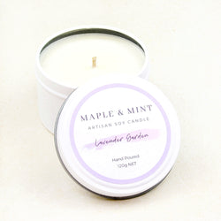 Lavender Garden Soy Candle