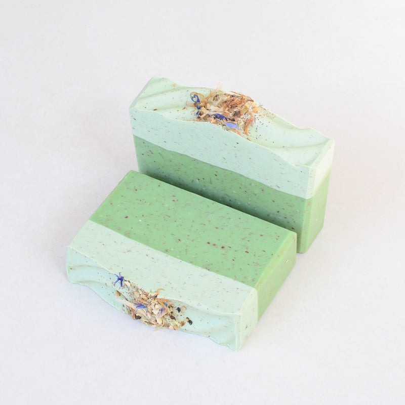 Gardener's Soap with Lavender, Clary Sage & Mint