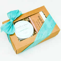 Candle & Artisan Soap Gift Set