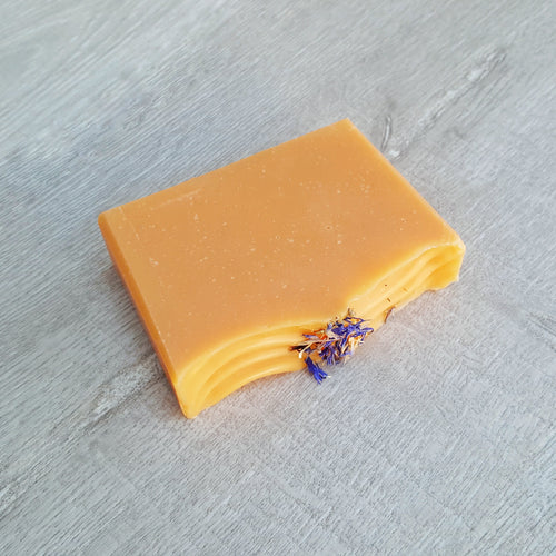 Sweet Orange and Cornflower Artisan Soap