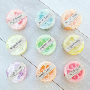 Assorted Loofah Exfoliating Bars
