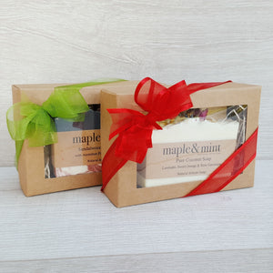 Artisan Soap & Dish Giftbox