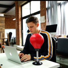 Desktop Punching Bag - Get Your Anger Out in Style!