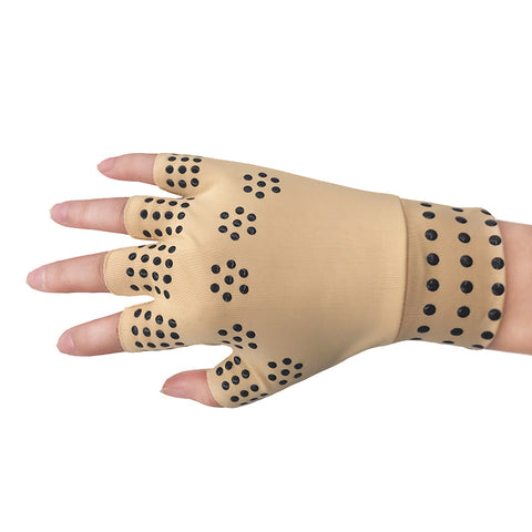 Magnetic Therapy-based Arthritis and Pain Relief gloves - 100% Money-Back Guarantee