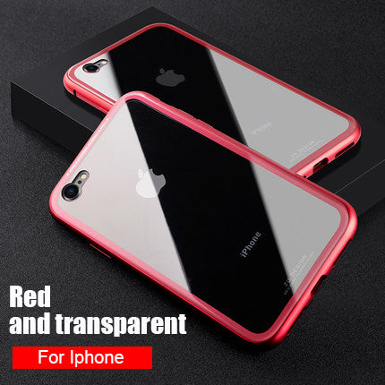 Magnetic Absorption Case for iPhone 6, 6S, 7, 8 and X