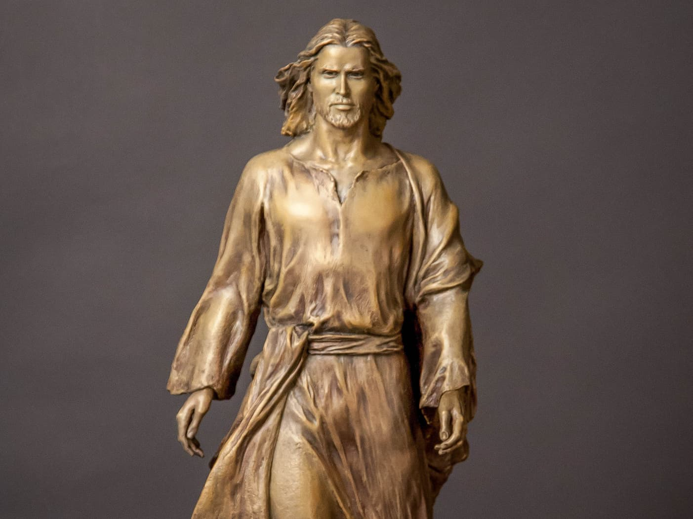 It Is I, Be Not Afraid-01 Large Bronze Sculpture