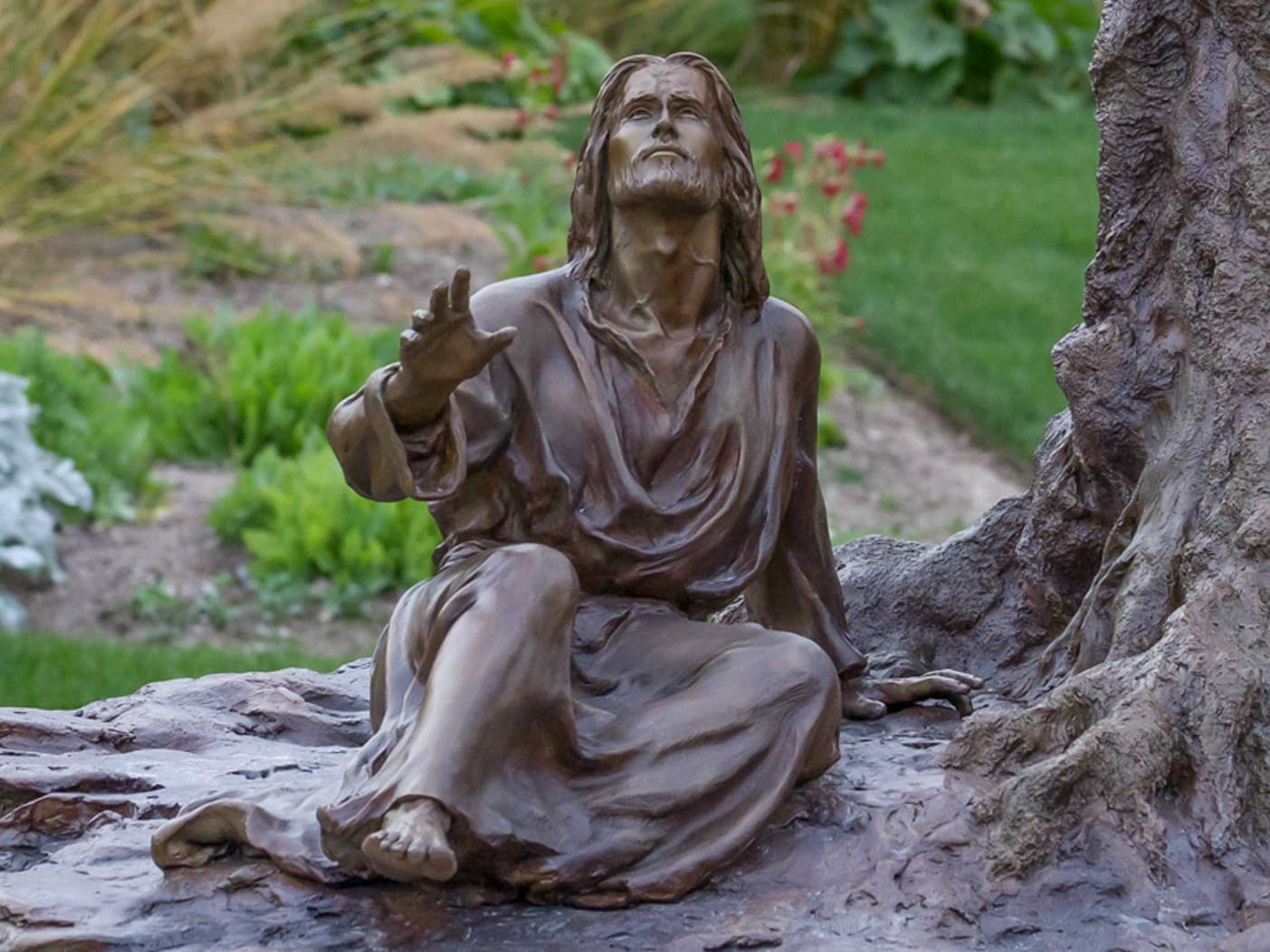 Gethsemane-02 Bronze Sculpture