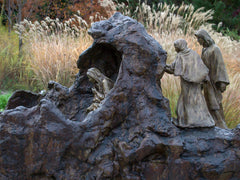 Lazarus Come Forth-02 Bronze Sculpture