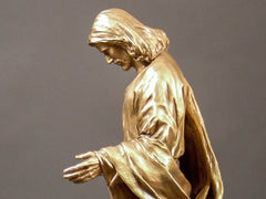 """Mary"" Bronze Sculpture"