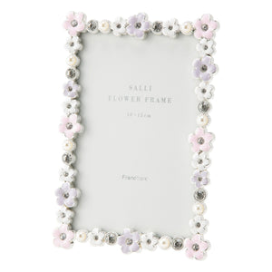SALLI FLOWER FRAME SQUARE MIX - weare-francfranc