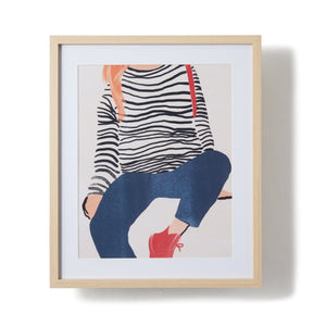 ART BOARD Lady Stripe - weare-francfranc