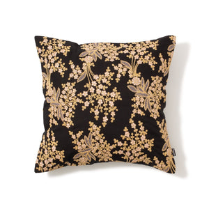 Broderie Cushion Cover Black - weare-francfranc