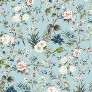 Charmee removable wallpaper Blue Jade - weare-francfranc
