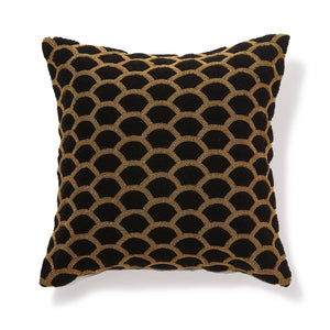 Financiee Cushion Cover Black Gold - weare-francfranc