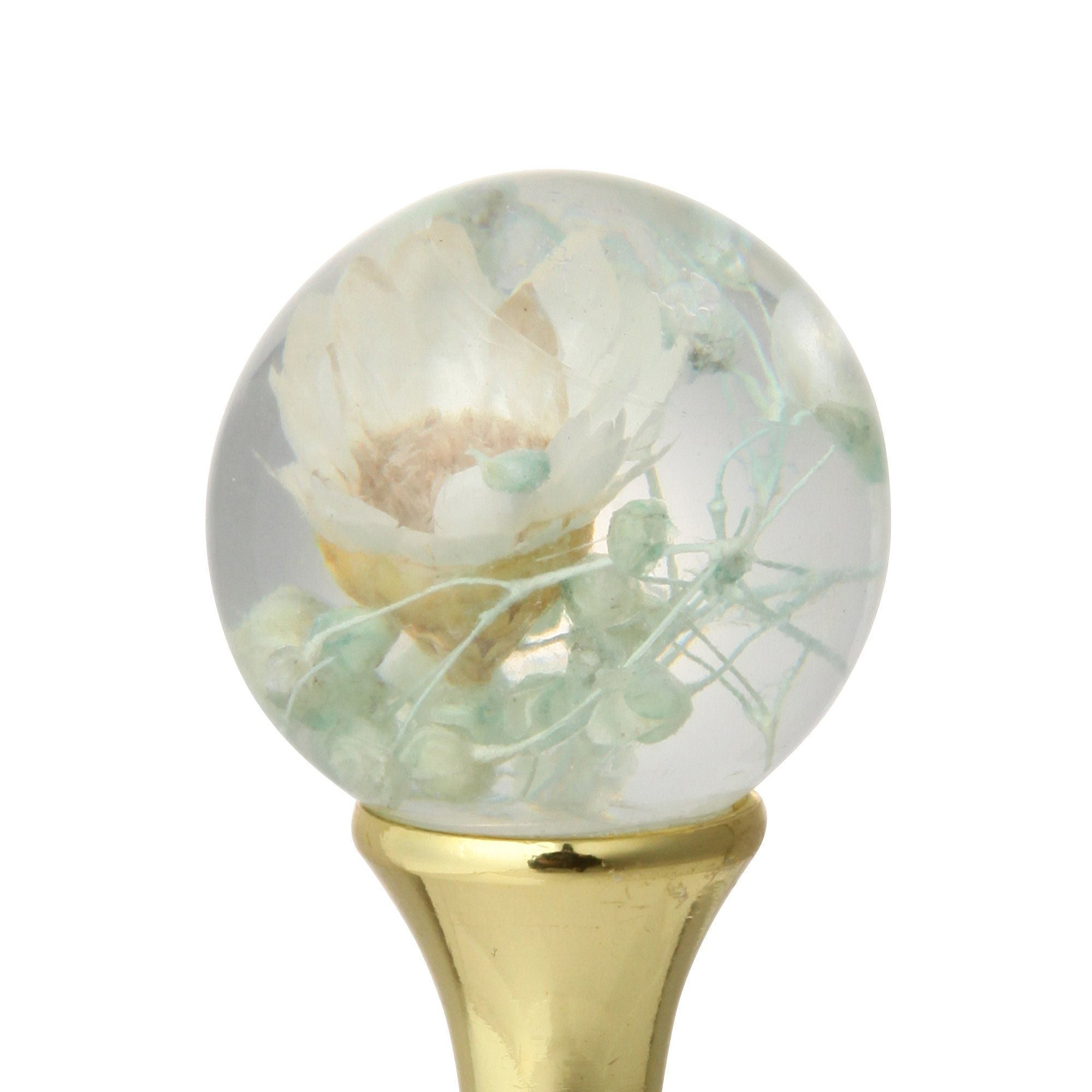 FLOWER Dome Pen White - weare-francfranc