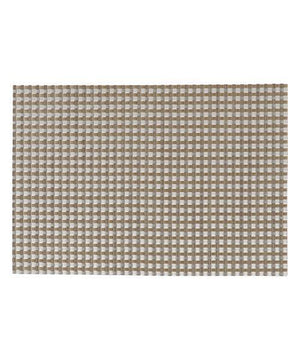 GRID Weave Lunch Mat Brown - weare-francfranc