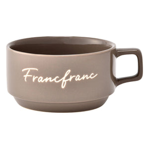 LOGO Soup Cup grey - weare-francfranc