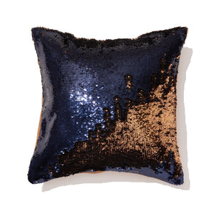 Lumage Cushion Cover Navy Gold - weare-francfranc