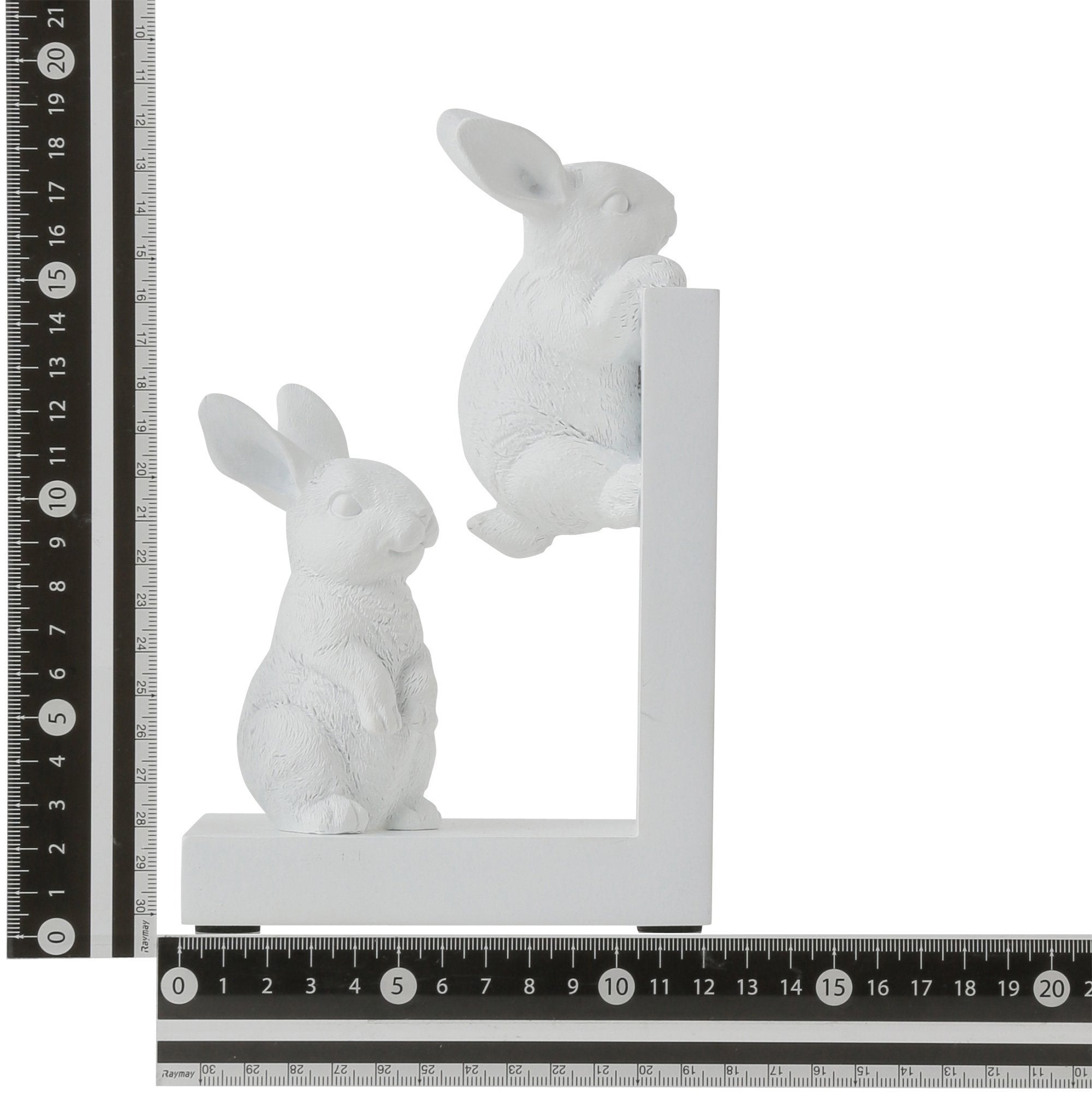 MIGNON Bookend Rabbit White - weare-francfranc
