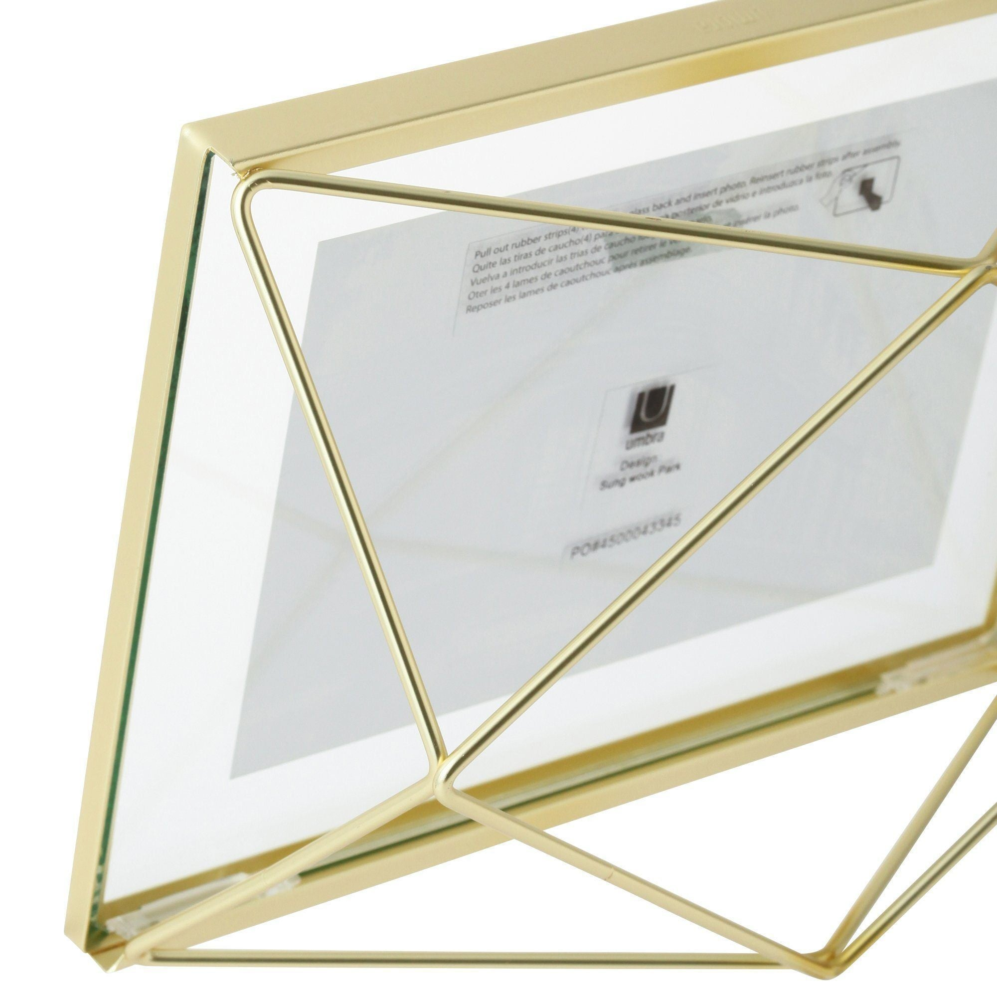 MULTI Glass Frame 1 Gold - weare-francfranc