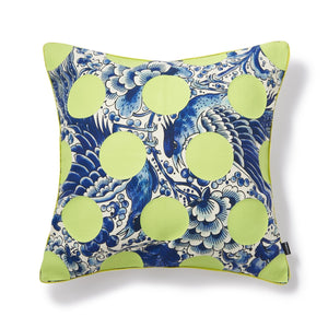 Nosheru Cushion Cover Blue - weare-francfranc