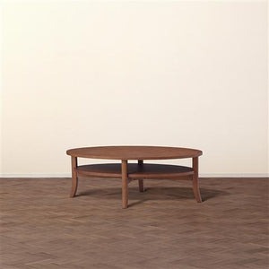 ORGA COFFEE  TABLE WOOD-TOP Brown - weare-francfranc
