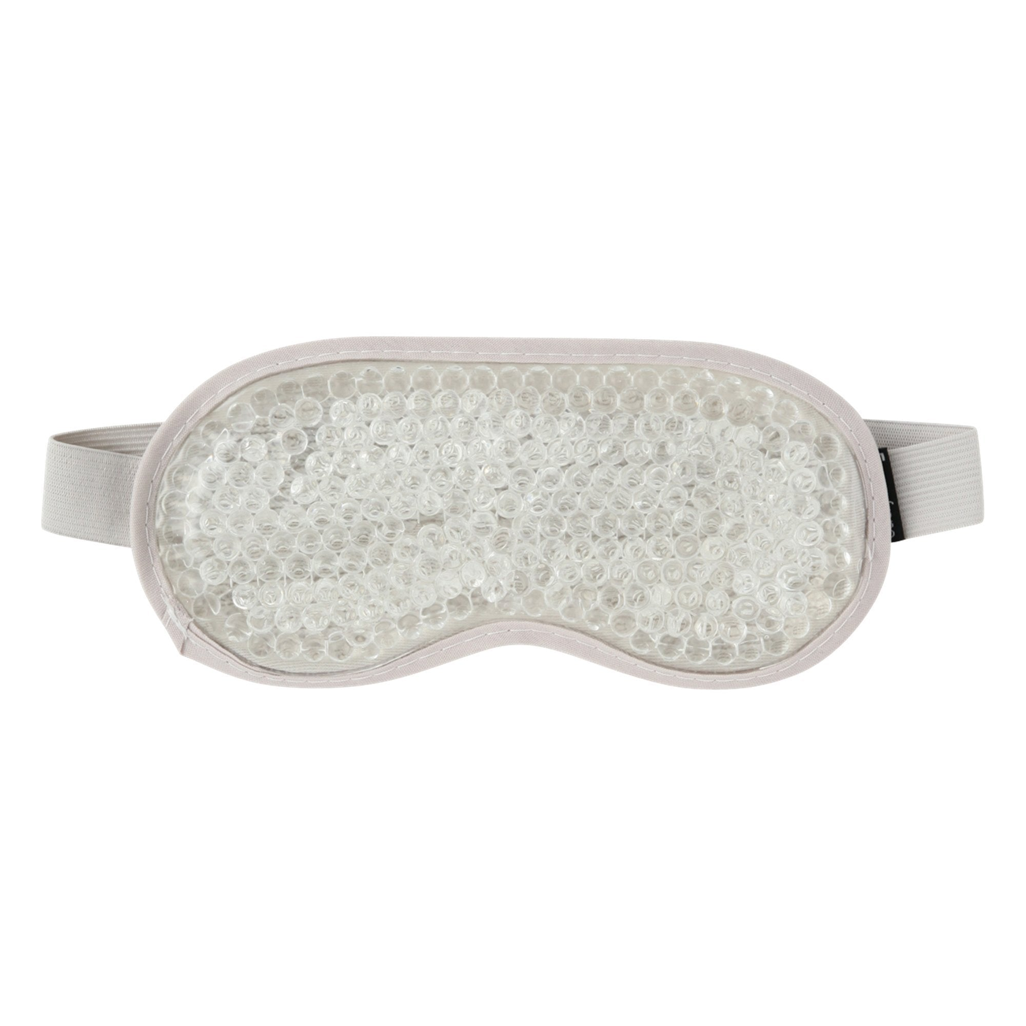 Peligri Beads Eye Pillow Mask Silver - weare-francfranc