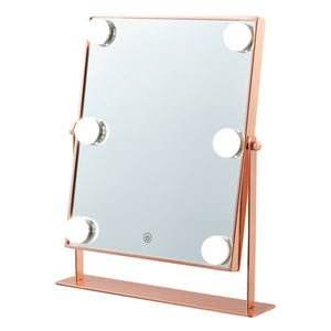 PFUTZE Hollywood Mirror Square Pink Gold - weare-francfranc