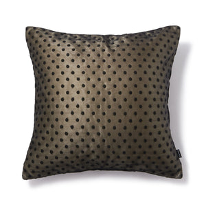 Polkara Cushion Cover Black - weare-francfranc