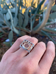 Convertible Eye Cube Ring
