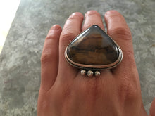 Load image into Gallery viewer, Montana Agate Statement Ring