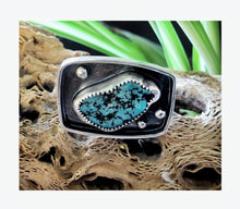 Load image into Gallery viewer, Alacron Turquoise Square Ring