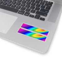rainbow stardust equality Kiss-Cut Stickers in 4 sizes!