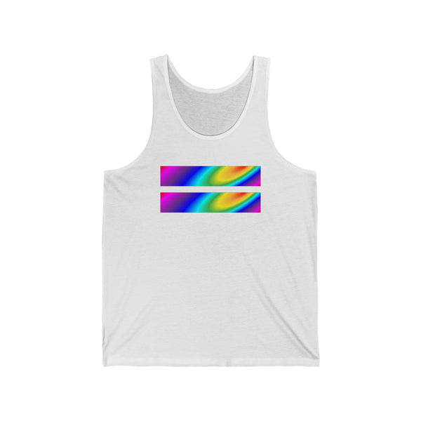 stardust equality all gender Jersey Tank funty rainbow graphic tank