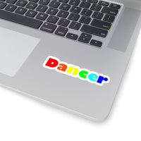Dancer Kiss-Cut Stickers available in 4 sizes