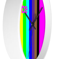 series be rainbow Wall clock