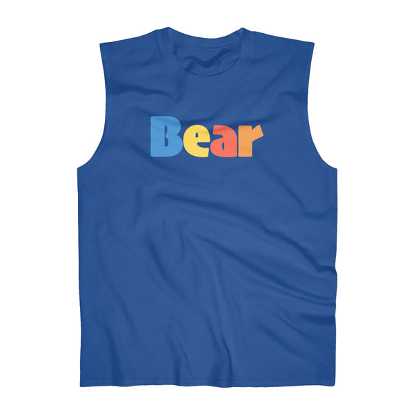 BEAR Men's Ultra Cotton Sleeveless T shirt
