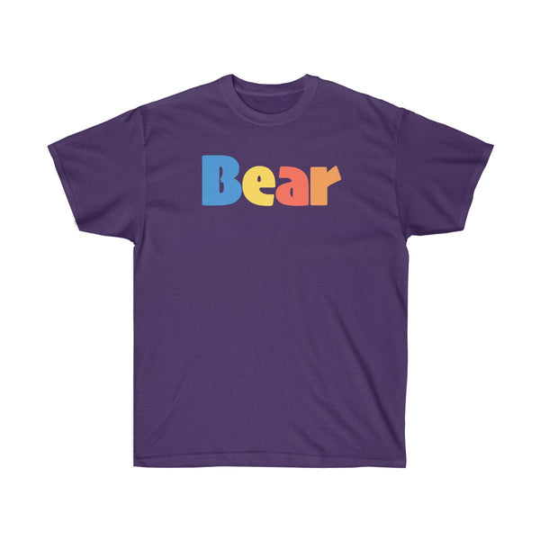 """summer bear"" Ultra Cotton Tee up to 5XL"