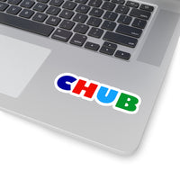 CHUB Kiss-Cut Stickers in 4 sizes!