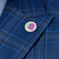 Q is for queer Metal Pin