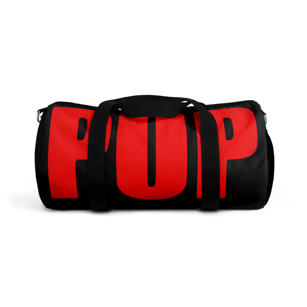 pup custom Duffle Bag black and red