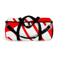 PUP custom Duffle Bag over sized white on red graphic