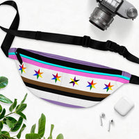 proto type alternative chicago pride flag inspired queer pride fanny pack