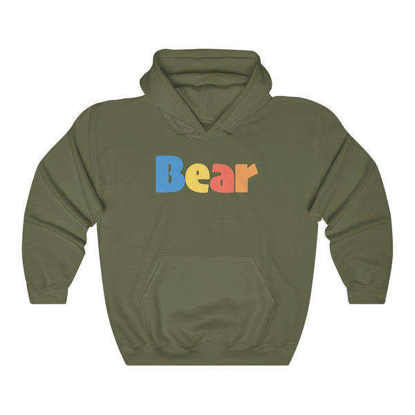 """summer bear"" all gender Heavy Blend™ Hooded Sweatshirt up to 5XL"