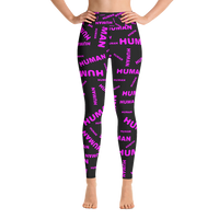 human just like you ladies Yoga Leggings