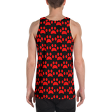 all over puppy paw  Tank Top