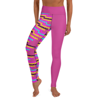 human just like you cmyk Yoga Leggings
