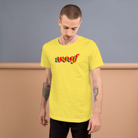 woof pride all gender T-Shirt be woofy!! rainbow print