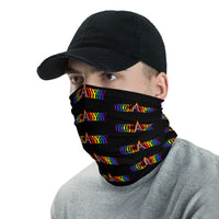 gay and proud face mask bike / run / shop / live / be human / be safe